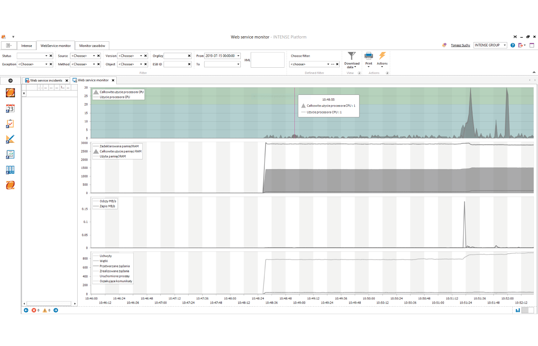 ESB Web Service Monitor